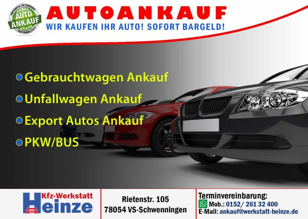 Werkstatt Heinze Auto Ankauf